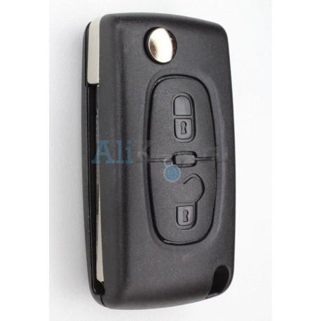 Выкидной ключ зажигания Citroen для С3, С4, DS3.