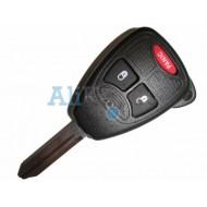 Dodge ключ зажигания с дистанционным управлением, 2 кнопок+panic