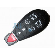 Jeep smart ключ, 5 кнопки+panic