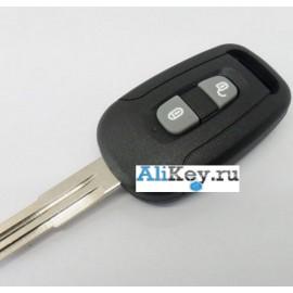 Chevrolet Captiva ключ зажигания 2 кнопки.