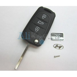 Hyundai корпус выкидного ключа 3 кнопки