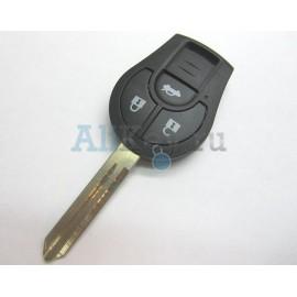 Nissan TIIDA ключ зажигания 3 кнопки