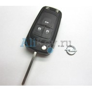 Корпус выкидного ключа 3 кнопки Opel