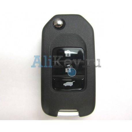Выкидной ключ зажигания Honda CR-V с дистанционным управлением, чип G,