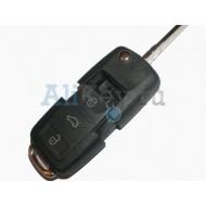 Skoda корпус выкидного ключа зажигания с 3 кнопками