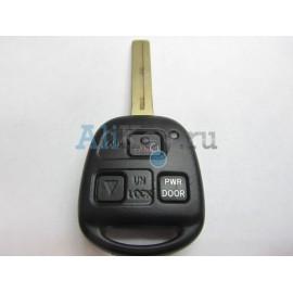 Lexus RX ключ зажигания с дистанционным управлением, 3 кнопки