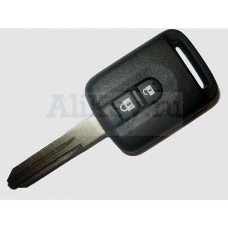Nissan ключ с дистанционным управлением 2 кнопки, чип 46 (отдельно)
