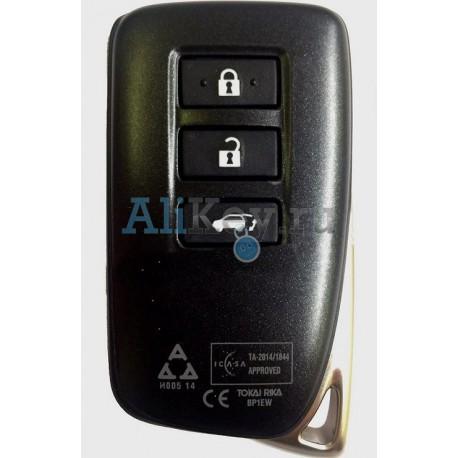 LEXUS RX450H/350/200T смарт ключ