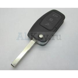 Ford FOCUS 2, MONDEO 4 и др.выкидной ключ зажигания с дистанционным управлением.