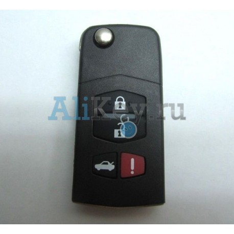 Ford Escape, Mazda Tribute выкидной ключ 4 кнопки