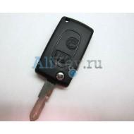 Peugeot корпус выкидного дистанционного ключа зажигания