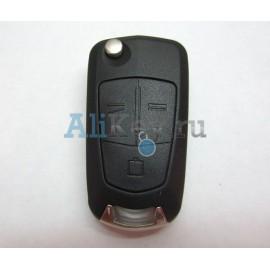 Opel Vectra C выкидной ключ 3 кнопки