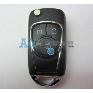 Chevrolet корпус ключа 3 кнопки.