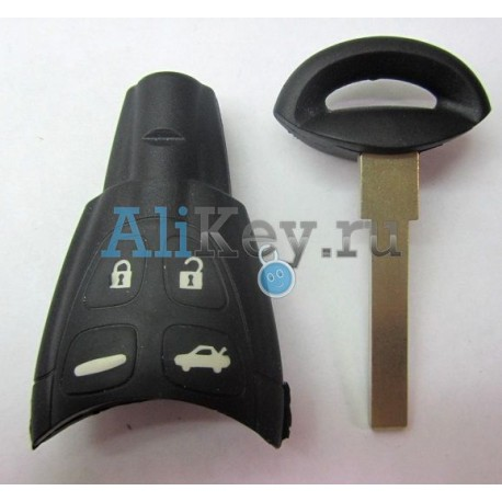 SAAB корпус ключа 4 кнопки