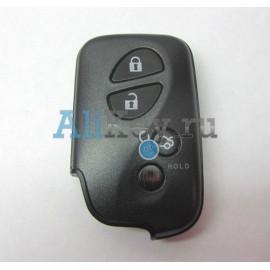 Lexus корпус smart ключа зажигания, 4 кнопки