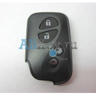 Lexus корпус smart ключа зажигания, 3 кнопки+panic