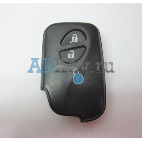 Lexus корпус смарт ключа 2 кнопки