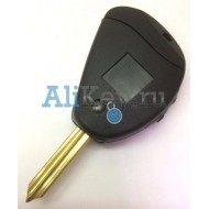 Citroen корпус ключа