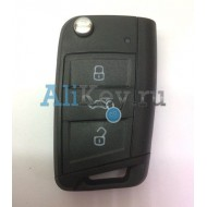 Volkswagen корпус ключа 3 кнопки