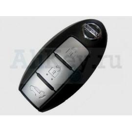 Nissan Teana I смарт ключ (3 кнопки). Для автомобилей без кнопки START 433Мгц