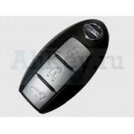 Nissan Teana смарт ключ (3 кнопки). Для автомобилей без кнопки START 433Мгц