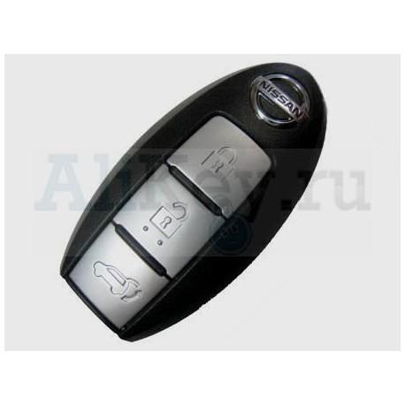 Nissan Teana смарт ключ (3 кнопки). Для автомобилей c 2014г.в. 433Мгц