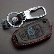 Чехол кожаный для ключа Ауди A1, A3, Q3, Q7, R8, TT