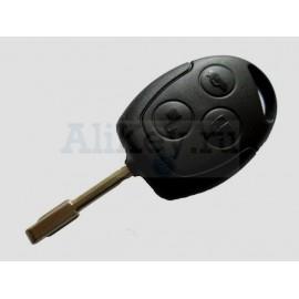 Ford ключ зажигания с дистанционным управлением 3 кнопки. Чип 4D-60. Модели: Focus I, Mondeo и д.р модели