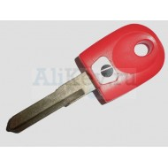 DUCATI заготовка ключа с местом под чип. № D-014