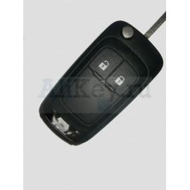Opel выкидной дистанционный ключ зажигания 2 кнопки