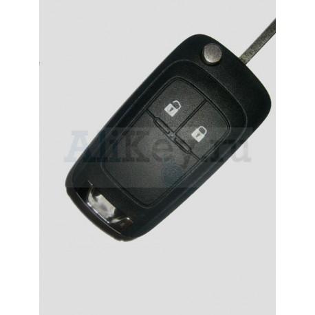 Выкидной ключ с дистанционным управлением 2 кнопки Opel