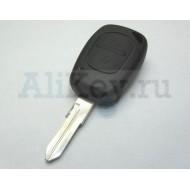 Рено корпус ключа 2 кнопки