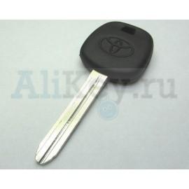 TOYOTA заготовка ключа с под чип, лезвие TOY 43