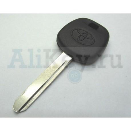 TOYOTA заготовка ключа под чип, лезвие TOY 47