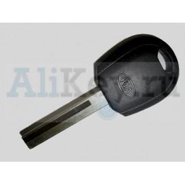 Kia Rio заготовка ключа с местом для установки чипа
