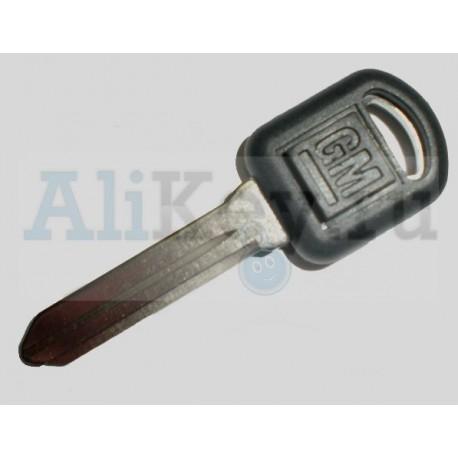 GM заготовка ключа с местом под чип