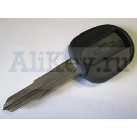 Chevrolet Lacetti заготовка ключа с местом под чип