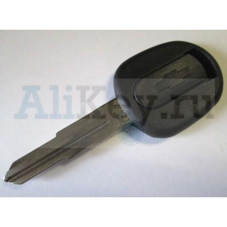 Шевроле заготовка ключа с местом под чип