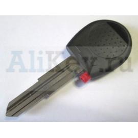 Chevrolet заготовка ключа зажигания с местом под чип