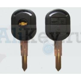 Chevrolet Lacetti ключ зажигания с дистанционным управлением 3 кнопки.