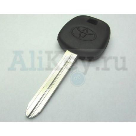 ТОЙОТА заготовка ключа с чипом 4D-67, лезвие TOY 43