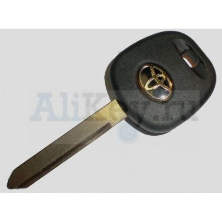 ТОЙОТА заготовка ключа с чипом 4С, лезвие TOY 47.