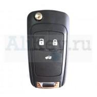 Chevrolet Cruze, Aveo выкидной ключ зажигания с дистанционным управлением 3 кнопки.