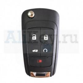 Chevrolet дистанционный ключ зажигания 4 кнопки плюс паника