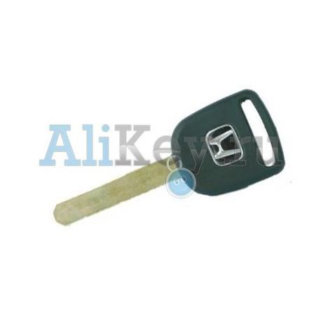 Honda заготовка ключа с местом под чип