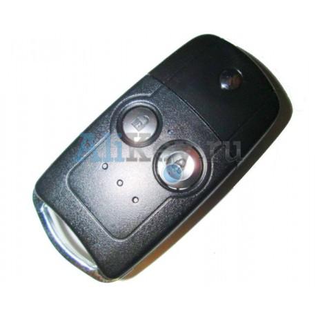 Honda выкидной ключ с дистанционным управлением (2 кнопки). Для CR-V.