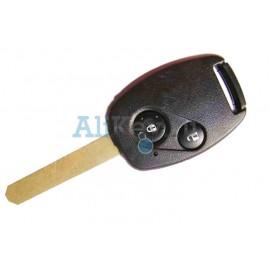 Honda ключ зажигания с дистанционным управлением, 2 кнопки, 48 чип
