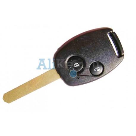Honda ключ с дистанционным управлением, 2 кнопки, с местом под 48 чип