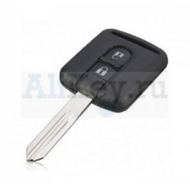 Nissan X-TRAIL, PATHFINDER, TIIDA, QASHQAI дистанционный ключ зажигания 2 кнопки.