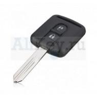 Nissan дистанционный ключ зажигания 2 кнопки, чип 46 на плате